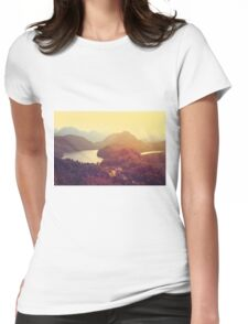 Austrian Landscape Womens Fitted T-Shirt