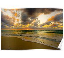 Cayman Sunset Poster