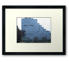 Glass Building Framed Print