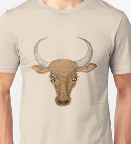 Bulls Head. Unisex T-Shirt