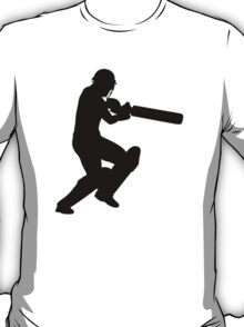 Cricket Sport Bat Ball T-Shirt