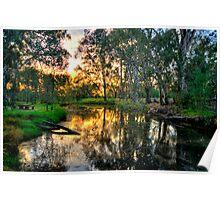 Billabong - Wonga Wetlands, Albury - The HDR Experience Poster