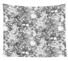 Black and white vintage marble pattern Wall Tapestry