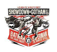 Batman vs Superman - Battle of the Worlds Finest by MysteryMeat