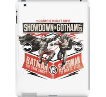 Batman vs Superman - Battle of the Worlds Finest iPad Case/Skin
