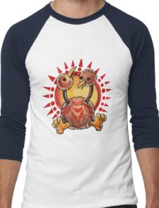 Doduo Men's Baseball ¾ T-Shirt
