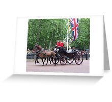 Prince William and camilla Parker Bowles Greeting Card