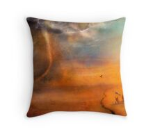 The Low Plain of Decision Throw Pillow