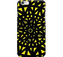 Mckinna Abstract Expression Yellow Black iPhone Case/Skin