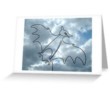 Flying Fox or Fruit Bat Greeting Card