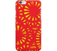 Seidel Abstract Expression Yellow Red iPhone Case/Skin