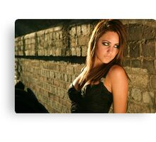 Another great shot of this young exciting model Roxi Canvas Print
