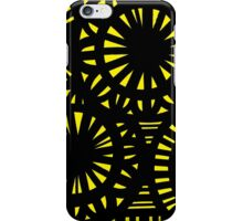 Casale Abstract Expression Yellow Black iPhone Case/Skin