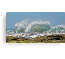 Ripping Waves at Point Roadknight Canvas Print