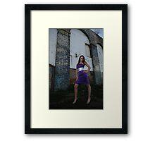 Long legs in great location Roxi  Framed Print