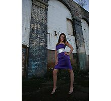 Long legs in great location Roxi  Photographic Print