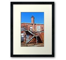 Nikola Tesla - Wardenclyffe Laboratory Building | Shoreham, New York  Framed Print
