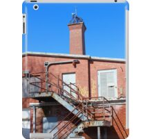 Nikola Tesla - Wardenclyffe Laboratory Building | Shoreham, New York  iPad Case/Skin