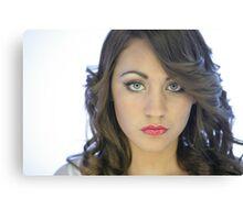 Headshot of young new model Roxi Canvas Print
