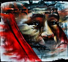Face on a Wall by Tia Rodriguez