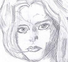 Comic girl  by XXVenganzaXX
