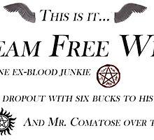 Team Free Will by enochianemma