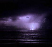 Jurien Bay Lightning by Daniel Fitzgerald