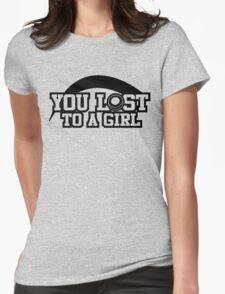 Women's hockey T-shirt (black) T-Shirt