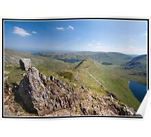 Views over Hawes Water Poster