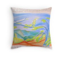 ... in the mountain.... Throw Pillow