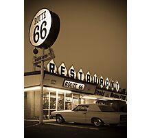 USA New Mexico. Route 66. San Jon. Photographic Print