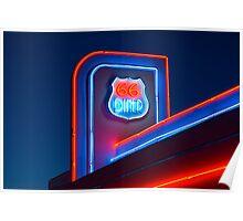 USA. New Mexico. Albuquerque. Route 66 Diner. Poster