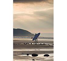 The canoe Photographic Print