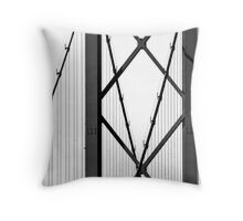 Forth Road Bridge Abstract Throw Pillow