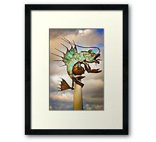 Barbican Prawn Framed Print