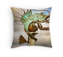 Barbican Prawn Throw Pillow