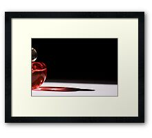 No flower, but the scent of. Framed Print