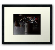 Coffee Time Framed Print