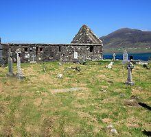 Achil Island cemetery by John Quinn