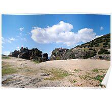 Greece, Kalabaka, Meteora Poster