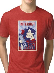 Internet Fact Checker Tri-blend T-Shirt