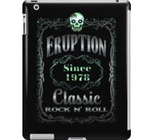 BOTTLE LABEL - ERUPTION iPad Case/Skin