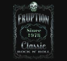 BOTTLE LABEL - ERUPTION by sleepingmurder