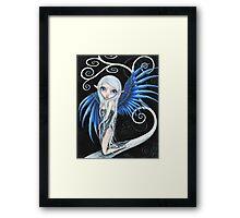 So Blue Framed Print