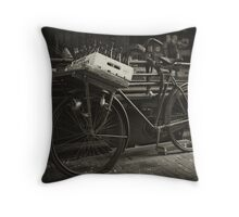 We Deliver Throw Pillow