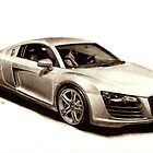 Audi R8 by Martin Hatton