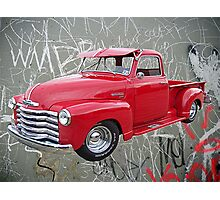 OldNSlo 1949 Chevrolet 3100 Pickup Photographic Print
