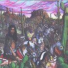 Crow Warriors' Captive Paiute Brides by Jedro