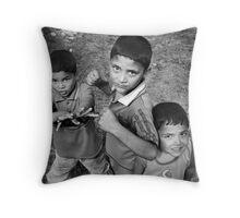 faraway boys Throw Pillow