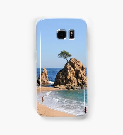 Tossa De Mar, Costa Brava, Spain Samsung Galaxy Case/Skin